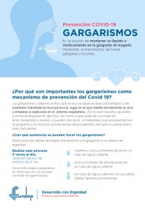 Cápsula 1: Gargarismos