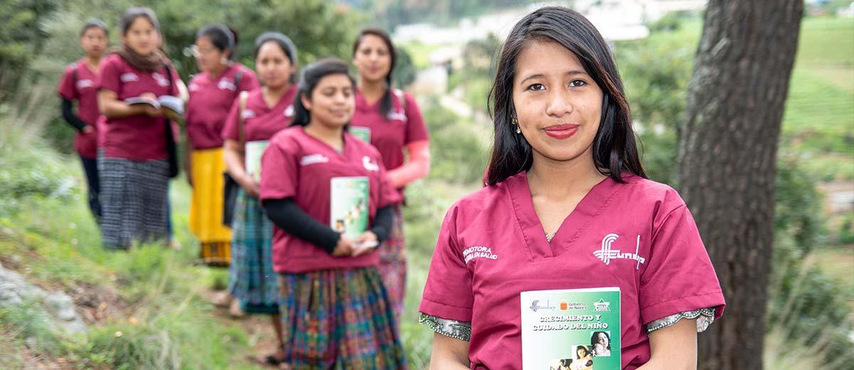 Voluntarias en salud