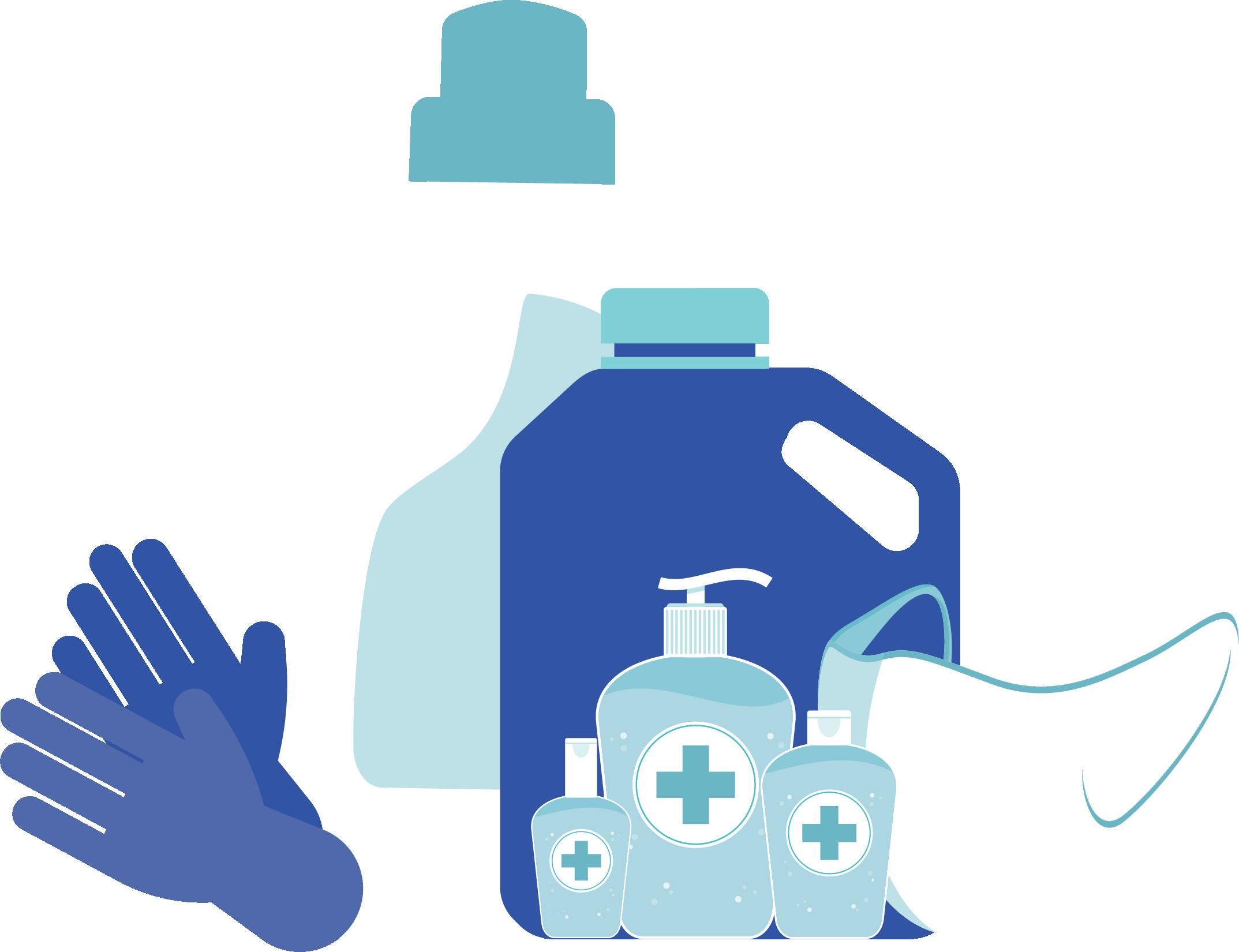 Higiene contra el COVID